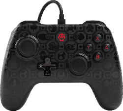 POWER A Switch Wired Controller Shadow Bowser Controller, Schwarz