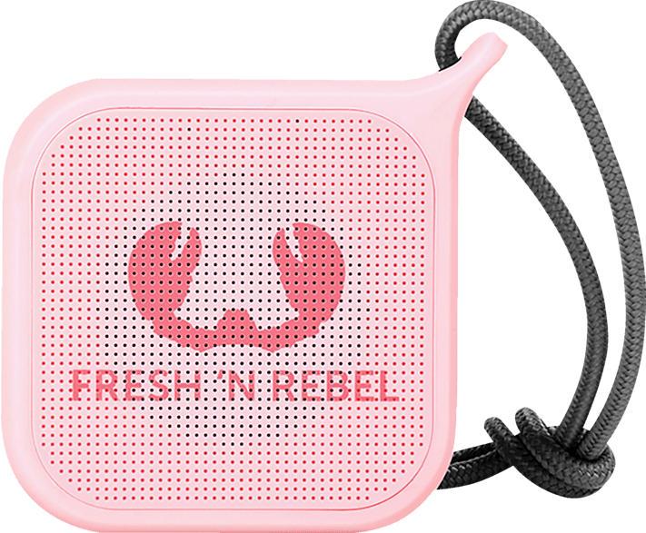FRESH N REBEL Rockbox Pebble Bluetooth Lautsprecher, Rosa