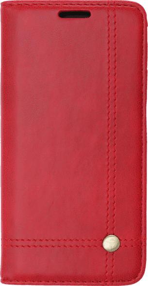 V-DESIGN VPR 031 , Bookcover, Apple, iPhone X, iPhone XS, Kunstleder, Rot