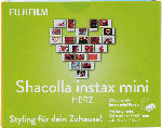 MediaMarkt FUJIFILM Shacolla instax mini Herz Kamerataschen