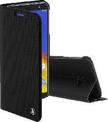 HAMA Slim Pro , Bookcover, Samsung, Galaxy J4+, Polyurethan (PU), Schwarz