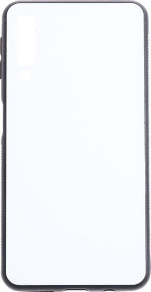 V-DESIGN VGL 075 , Backcover, Samsung, Galaxy A7, Glas, Weiß