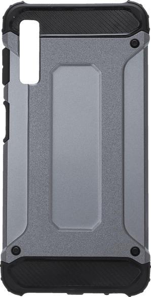 V-DESIGN VDR 074 , Backcover, Samsung, Galaxy A7, Plastik + Thermoplastisches Polyurethan, Grau