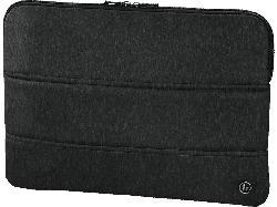 HAMA Manchester Notebooktasche, Sleeve, Schwarz