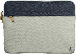 HAMA Florenz Notebooktasche, Sleeve, Hellgrau/Marineblau