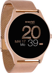 XLYNE  X-WATCH JOLI XW PRO (54029) Smartwatch, Metall, 265 mm, Gehäuse: Roségold/Armband: Roségold