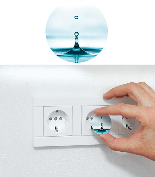 REV Water Steckdosenschutz