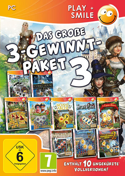Das große 3-Gewinnt-Paket 3 [PC]