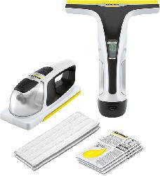 KÄRCHER 1.633-580.0 WV 6 + KV 4 Premium Fenstersauger und Akkuwischer, Weiß/Grau
