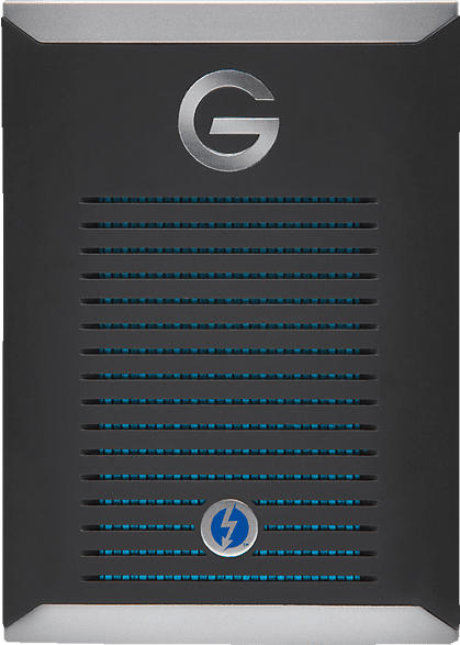 G-TECHNOLOGY G-DRIVE™ mit  Thunderbolt™ 3, 1 TB SSD, 2.5 Zoll, extern, Schwarz