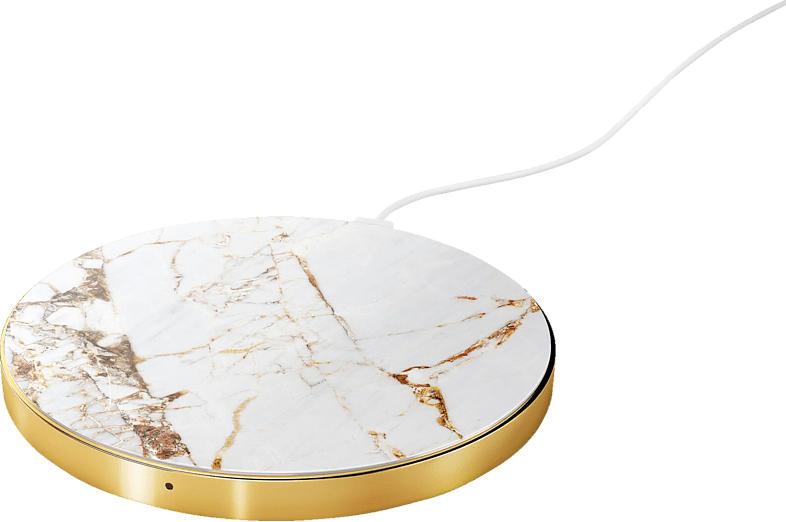 IDEAL OF SWEDEN Carrara Gold Marble, induktive ladestation, Weiß/Gold