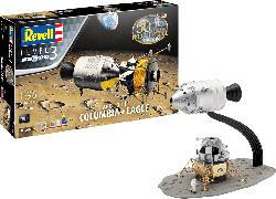 REVELL Apollo 11 Columbia & Eagle Bausatz, Mehrfarbig