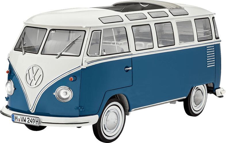 REVELL Volkswagen T1 Samba Bausatz, Mehrfarbig