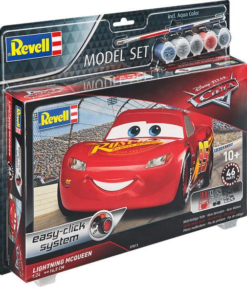 REVELL 67813 Model Set Lightning McQueen Bausatz, Mehrfarbig
