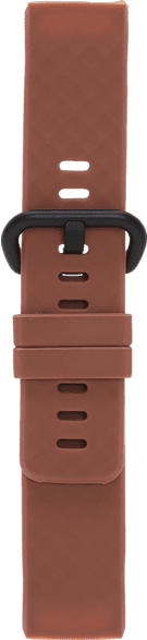 V-DESIGN VUB 013, Ersatzarmband, Fitbit, Charge 3, Braun