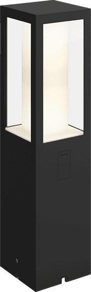 PHILIPS Hue White & Color Amb. Impress LED Sockelleuchte, Schwarz