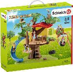 MediaMarkt SCHLEICH Abenteuer Baumhaus Spielset, Mehrfarbig