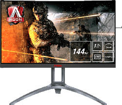 AOC AG273QCX 27 Zoll QHD Monitor (1 ms Reaktionszeit, FreeSync 2, 144 Hz)