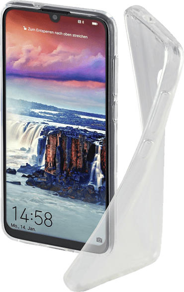 HAMA Crystal Clear , Backcover, Huawei, P Smart (2019), Thermoplastisches Polyurethan, Transparent
