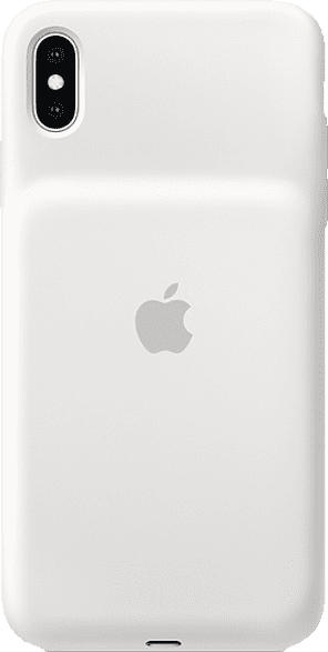 APPLE Smart Battery Case , Backcover, Apple, iPhone XS Max, Kunststoff, Weiß