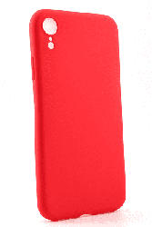 AGM 27787 Matt , Backcover, Apple, iPhone XR, Thermoplastisches Polyurethan, Rot
