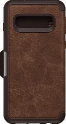 OTTERBOX Strada , Bookcover, Samsung, Galaxy S10, Echtleder, Espresso Braun