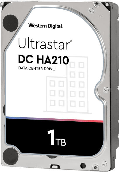 WD Ultrastar DC HA210, 1 TB Interner Speicher, 3.5 Zoll, intern