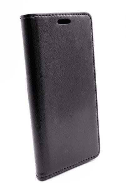 AGM 27914 Magnet , Bookcover, Samsung, Galaxy S10e, Obermaterial Kunstleder, Thermoplastisches Polyurethan, Schwarz