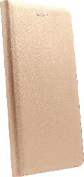 AGM 27935 , Bookcover, Samsung, Galaxy S10+, Obermaterial Kunstleder, Stoff, Thermoplastisches Polyurethan, Kunststoff, Gold