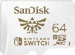 Media Markt SANDISK microSDXC UHS-I Speicherkarte für Nintendo Switch, 64 GB , Speicherkarte, Weiß