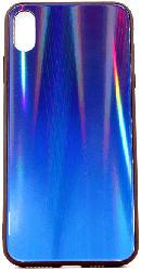 AGM 28019 Polar , Backcover, Apple, iPhone XS Max, Gehärtetes Glas, Thermoplastisches Polyurethan, Blau/Mehrfarbig