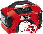 MediaMarkt EINHELL PRESSITO Kompressor, Schwarz/Rot