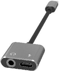 TERRATEC CONNECT C100, Adapter, Silber