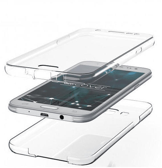 AGM 29915 , Full Cover, Samsung, Galaxy Note10+, Thermoplastisches Polyurethan, Transparent