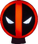 Media Markt PALADONE PRODUCTS Deadpool Logo Leuchte Lampe, Rot