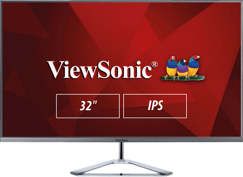 VIEWSONIC VX3276-MHD-2 31.5 Zoll Full-HD Monitor (4 ms Reaktionszeit, 60 Hz)