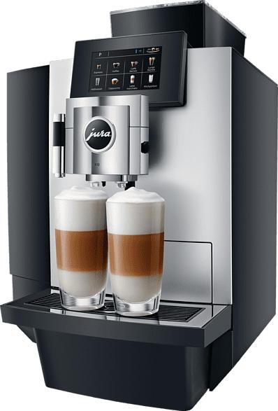 JURA X10 Platin Kaffeevollautomat Platin