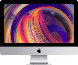 APPLE iMac MRT32D/A-150678 mit deutscher Tastatur, All-In-One PC mit 21.5 Zoll Display, Core i3 Prozessor, 32 GB RAM, 512 GB SSD, Radeon™ Pro 555X, Silber
