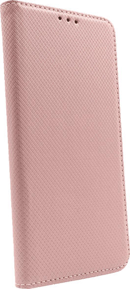 AGM 28441 , Bookcover, Huawei, Y7 (2019), Obermaterial Kunstleder, Thermoplastisches Polyurethan, Kunststoff, Rosegold