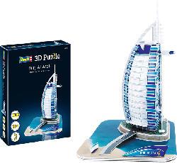 REVELL Burj al Arab 3D Puzzle, Mehrfarbig