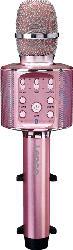 LENCO BMC-090PK Karaoke Mikrofon, Pink