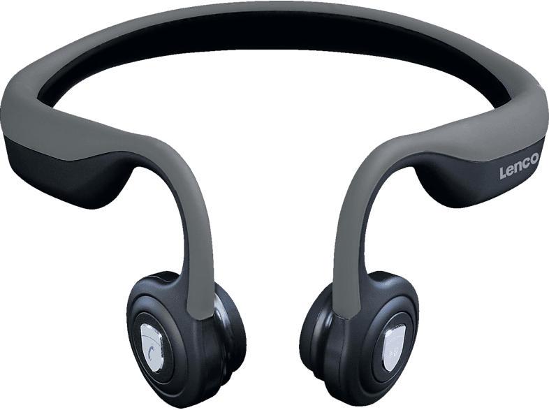 LENCO HBC-200 GY, Open-ear Bluetooth Kopfhörer Bluetooth Grau