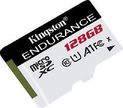 KINGSTON High Endurance, Micro-SD Speicherkarte, 128 GB, 95 MB/s