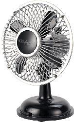 SONNENKÖNIG 10501417 Retro Fan Tischventilator Schwarz (2.5 Watt)