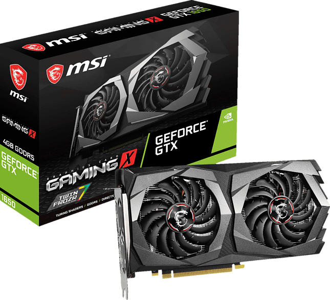 MSI GeForce® GTX 1650 Gaming X 4GB (V380-003R) (NVIDIA, Grafikkarte)