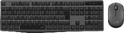 SPEEDLINK NEOVA Deskset - Wireless, Maus und Tastatur Set, Schwarz/Grau