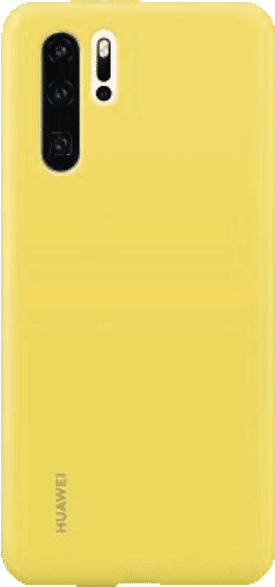 HUAWEI Silicone Case , Backcover, Huawei, P30 Pro, Silikon, Gelb