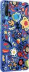 MediaMarkt HUAWEI PC Case , Backcover, Huawei, P30 lite, P30 lite New Edition, Polycarbonat, Floral Blue