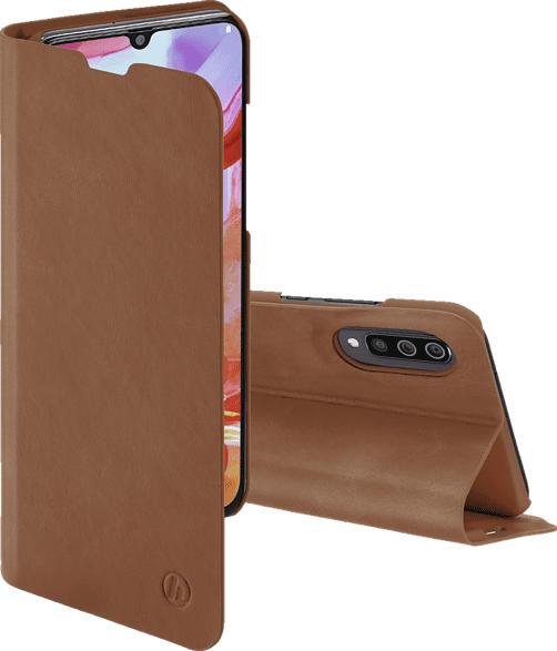 HAMA Guard Pro , Bookcover, Samsung, Galaxy A70, Kunstleder, Braun