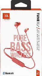 JBL T 115BT, In-ear Kopfhörer Bluetooth Coral